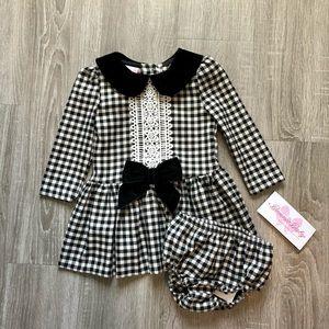 Gingham Dress for toddler